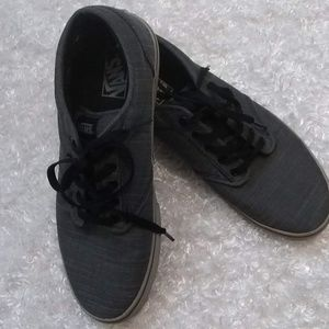 """Vans """"Off the Wall"""" Gray Canvas"""